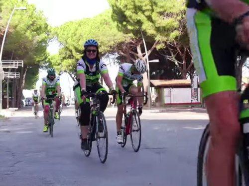 """Video DvdiV – Sport , LDW Bike Tour 2016 """"Coast to Coast"""" da Gubbio a Ostia"""