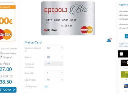 Sixth Continent –  Altra Favolosa News da Gennaio :  MasterCard Prepagate da 200 o 400 Euro