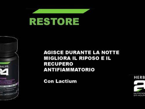 Video DvdiV – Prodotto , HerbaLife – H24 Restore , Integratore Alimentare con Lactium