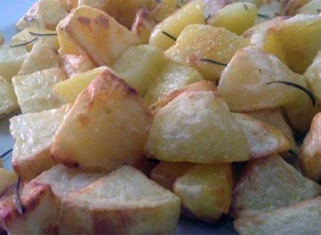 Video DvdiV – Ricetta , vediamo come Preparare delle Croccanti e Favolose Patate Arrosto